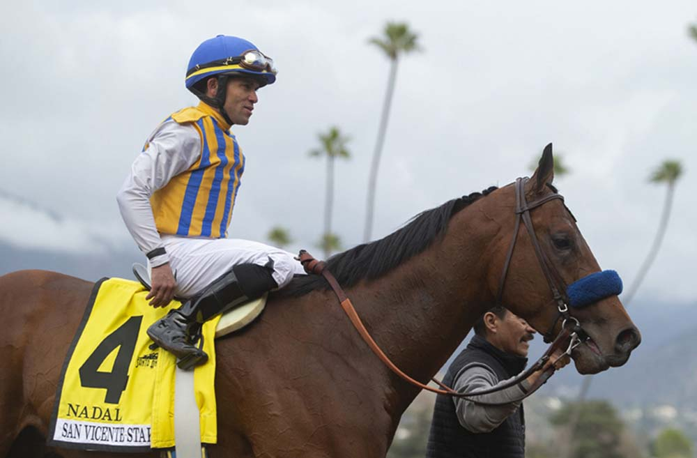 Us Racing Bob Baffert S Trainee Nadal Suffers Career Ending Injury Quickgallop Com